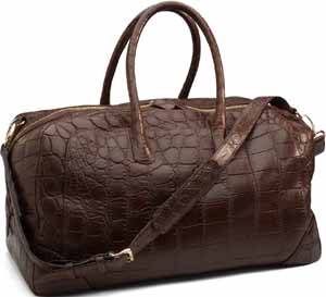 Brooks Brothers Crocodile Weekender: US$15,000.