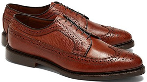 Brooks Brothers Long Wingtips Shoes: US$368.