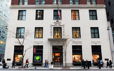 Brooks Brothers, 346 Madison Avenue, New York City, NY 10017.