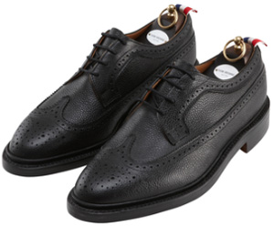 Thom Browne Classic Long Wingtip Brogues Shoes: US$895.