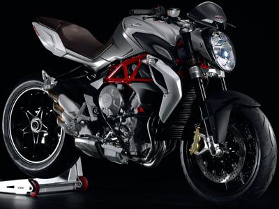 MV Agusta Brutale 800 motorcycle.