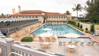 Bath and Tennis Club | B & T, 1170 S Ocean Boulevard.