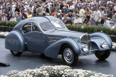 World's most expensive classic car: US$30-40 mio. - Bugatti 57SC Atlantic.