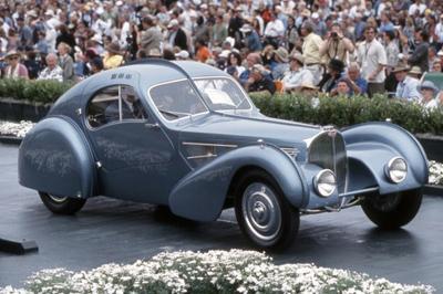 World's most expensive classic car: US$30-40 mio. - Bugatti 57SC Atlantic.
