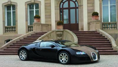 Bugatti Veyron Fbg par Hermès (2008).