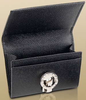 Bulgari Business Card Holder: US$325.