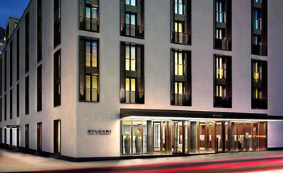 The Bvlgari Hotel - the most expensive place to stay in Britain.
