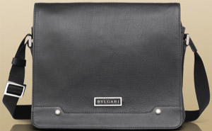 Bvlgari Men's Messenger Bag: US$1,550.