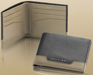 Bvlgari Men's Wallet: US$375.