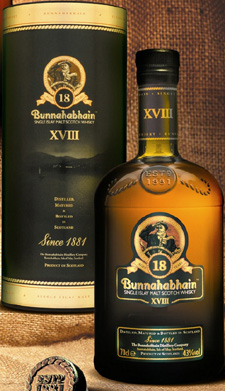 Bunnahabhain 18 Year Old.
