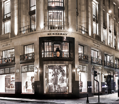 British designer & Creative Director Christopher Bailey introduces Burberry's new flagship store, 121 Regent Street, London W1B 4TB, U.K.