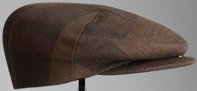 Burberry Check Flat Cap hat: US$325.