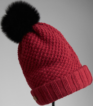 Burberry Fur Pom-Pom Beanie hat: US$425.