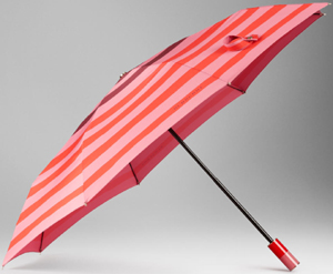 Burberry Check Walking Women's Striped Folding Umbrella: US$325.