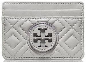Tory Burch Marion Quilted Slim Card Case: £80.