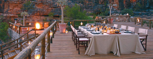 The Restaurants at Bushmans Kloof.