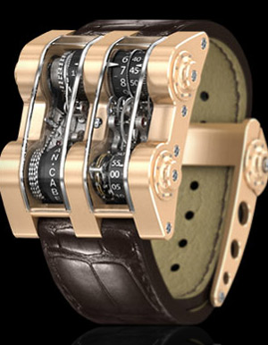 Cabestan Winch Tourbillon Vertical - Pink Gold.