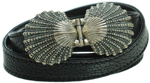 Ugo Cacciatori women's shell belt: €648.