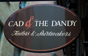 Cad & The Dandy, 12 Savile Row.