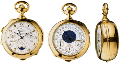 Patek Philippe Calibre 89 pocket watch.
