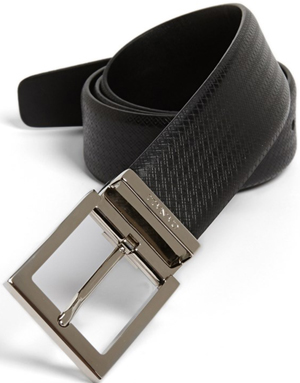 Canali Men's Leather Belt: US$240.