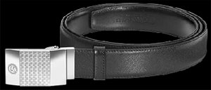 Caran d'Ache Type 55 Men's Leather Belt.