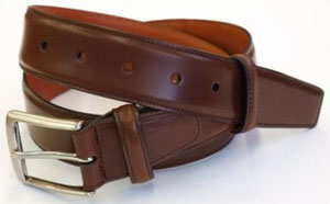 Carmina Belt in shell cordovan cognac: €175.