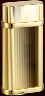 Cartier 'Godrons' decor lighter.