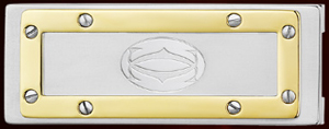 Santos de Cartier Money Clip.