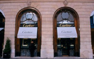 Cartier Flagship Store, 13 Rue de la Paix, 75002 Paris, France.