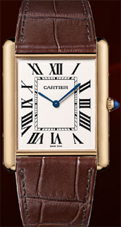 Tank Louis Cartier Extra-Flat Watch, Tank Collection.