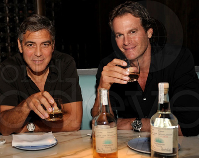 Casamigos Tequila founders George Clooney and Rande Gerber and partner Mike Meldman hit Miami last night to celebrate the launch of Casamigos Tequila at Hakkasan at Fontainebleau.