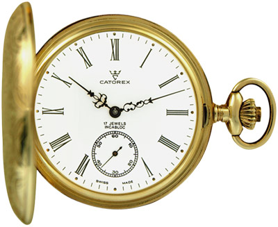 Catorex Les Breuleux pocket watch.