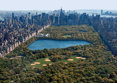 Central Park, Manhattan in New York City, NY, U.S.A.
