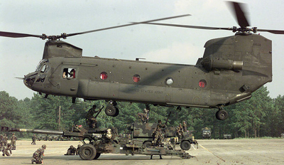 Boeing CH-47 Chinook.