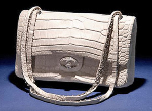 The Chanel 'Diamond Forever' Classic Handbag: US$261,000.