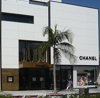 Chanel, 400 North Rodeo Drive, Beverly Hills, CA 90210.