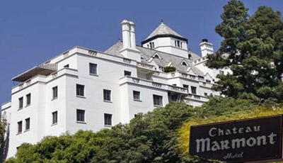 Chateau Marmont Hotel.