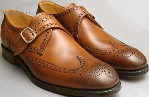 Joseph Cheaney & Sons Humphrey III in Burnished Mahogany Shoes: €385.