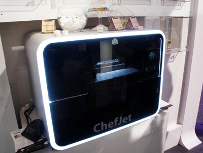 ChefJet - 3D printed food.