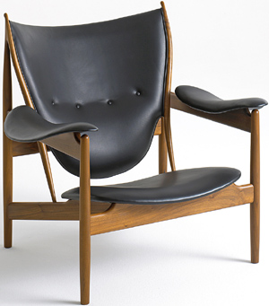 Chieftains chair. Designed by Finn Juhl in 1949.