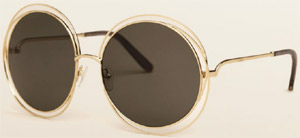Chloé Carlina women's sunglasses.