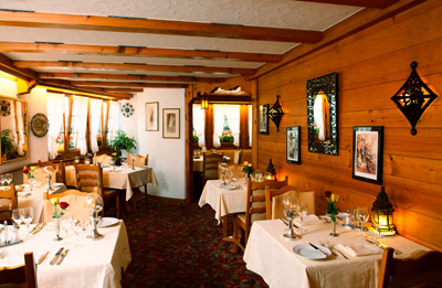 The Restaurant at Hotel Christiania, Untergstaadstrasse 26, CH-3780 Gstaad.
