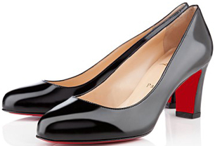 Christian Louboutin Mistica 60mm Black Patent Shoes: US$625.