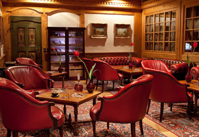 Grand Hotel Park Cigar Lounge.