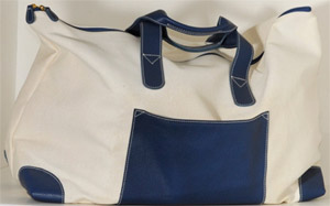 Cipriani Canvas Tote Bag: US$450.00.