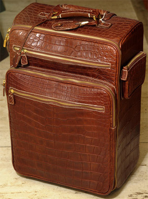 Cipriani Alligator Skin Trolley: US$8,500.00.