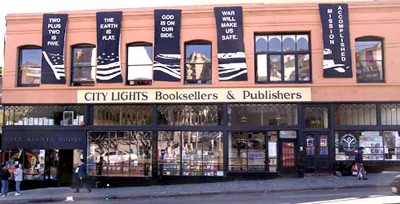City Lights Bookstore, 261 Columbus Ave, San Francisco, CA 94133, U.S.A.