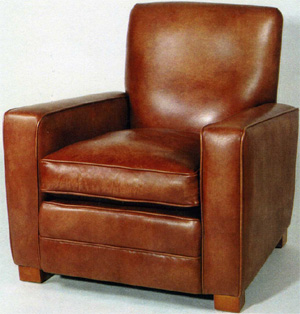 'William' Club Chair by Kingsgate Furniture.