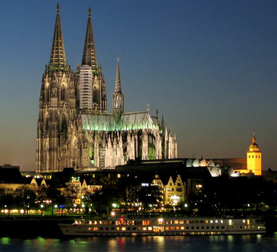 Cologne Cathedral (Germany) by Gerhard von Rile (1248).